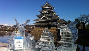 国宝松本城氷彫フェスティバル ~THE FINAL~ @ 松本城公園