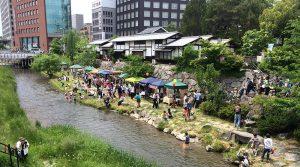 水辺のマルシェ2017-1 @ ナワテ通り | 松本市 | 長野県 | 日本